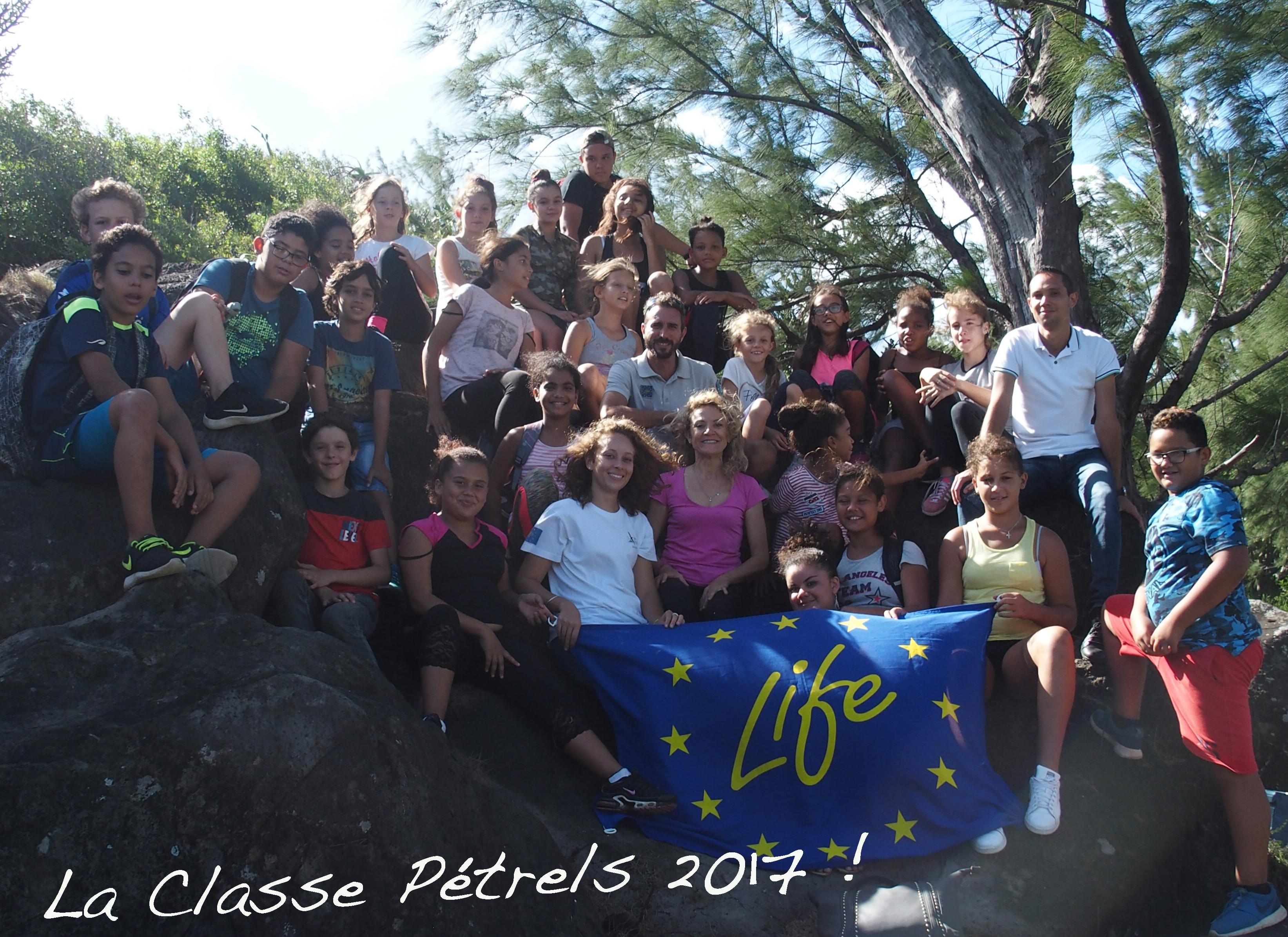 La «classe Pétrels» : le mot de la professeure principale